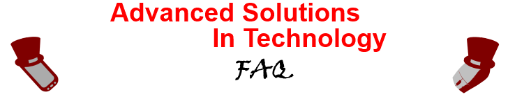 Advanced Solutions In Technology, LLC of Waupun Computer and PC Repair FAQ.
